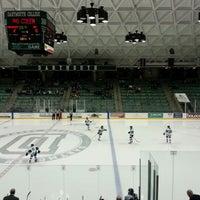 Photo taken at Thompson Arena at Dartmouth by Barbara B. on 1/19/2013