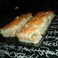 Photo taken at Mr. Miyagi Sushi Bar by Elisa F. on 2/13/2013