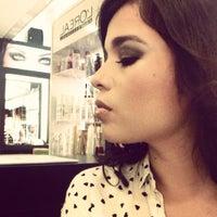 Photo taken at Cristina Gomez Hair Studio by Aurorita F. on 3/30/2014