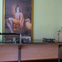 Photo taken at Hare Krishna by David L. on 2/6/2013