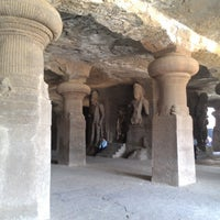 Photo taken at Elephanta Caves by Engel D. on 3/9/2013