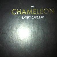 Photo taken at The Chameleon Restaurant & Bar by Gurpreet S. on 3/16/2013