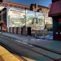 Photo taken at Warehouse District/Hennepin Ave LRT Station by Tom M. on 4/6/2014