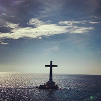 Photo taken at Sunken Cemetery Cross by Raymon Cyril S. on 3/16/2013