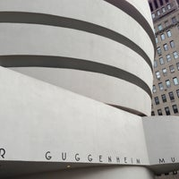 Photo taken at Solomon R Guggenheim Museum by Marc S. on 4/13/2013