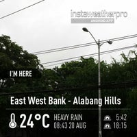 Photo taken at East West Bank - Alabang Hills by Niko Fernand M. on 8/20/2013