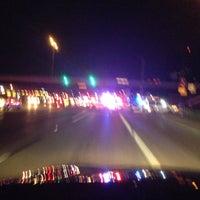 Photo taken at West Sam Houston Tollway South Plaza by Blake Z. on 2/20/2013
