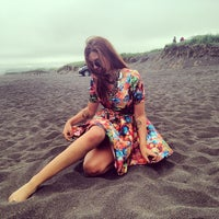 Photo taken at Pacific Ocean by Olya S. on 7/3/2014