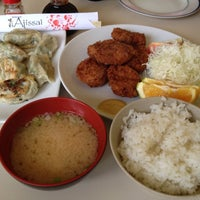 Photo taken at Ajissai Restaurante by Rafael T. on 12/17/2012