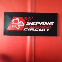 Photo taken at Media Centre | Sepang International Circuit by Syakir F. on 10/25/2016