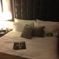 Photo taken at Distrikt Hotel New York City by Kim S. on 2/13/2013