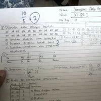 Photo taken at SMA Negeri 6 Bandung by Damayanti D. on 9/21/2013