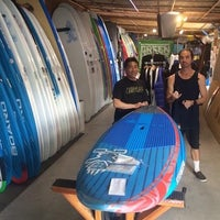 Photo taken at Blue Planet Surf - SUP HQ by Robert S. on 2/27/2016