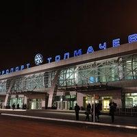Photo taken at Tolmachevo International Airport (OVB) by Alexandr G. on 3/3/2013