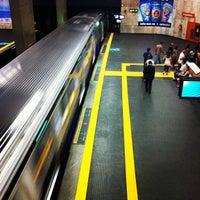 Photo taken at MetrôRio - Estação Uruguaiana by Wilson M. on 2/7/2013