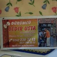 Photo taken at Dürümcü Bedir Usta by Elif-Osman D. on 2/3/2013