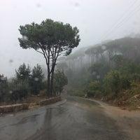Photo taken at Bzebdine by Akram M. on 10/3/2013