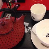 Photo taken at Wiener's Tea&Coffee Lounge by Begüm E. on 10/2/2013