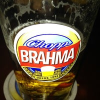 Photo taken at Quiosque Chopp Brahma by Pedro M. on 4/4/2013