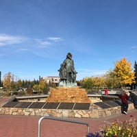 Photo taken at Downtown Fairbanks by Jessica C. on 9/14/2017