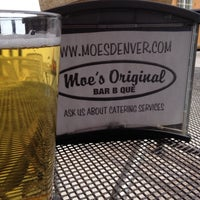 Photo taken at Moe's Original BBQ by Jessica C. on 5/3/2014