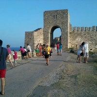 Photo taken at Археологически резерват Калиакра (Kaliakra Archaeological Reserve) by Dana B. on 8/18/2013
