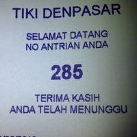 Photo taken at TIKI - Titipan Kilat by DenBagoez M. on 6/10/2013