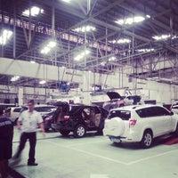 Photo taken at Toyota Balintawak by John Phillips B. on 4/15/2013
