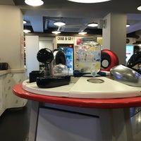 Photo taken at Café NESCAFÉ by Jun S. on 10/8/2017