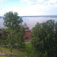 Снимок сделан в Нижегородский кремль пользователем Khanin 6/7/2013