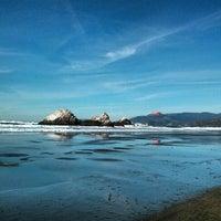 Photo taken at Ocean Beach by Robert F. on 1/19/2013