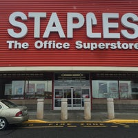 Photo taken at Staples by jean s. on 2/10/2016