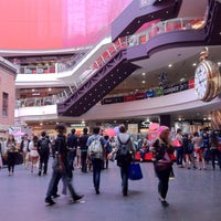 Photo taken at Melbourne Central by Mey T. on 2/28/2013