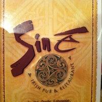 Photo taken at Siné Irish Pub & Restaurant by Todd K. on 2/16/2013