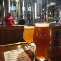 6/30/2018 tarihinde Robby W.ziyaretçi tarafından Solace Brewing Company'de çekilen fotoğraf