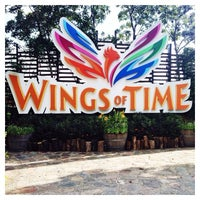 Photo taken at Wings of Time by Constance N. on 6/17/2014