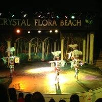 Photo taken at Crystal Beach Anfi-theatre by Seda B. on 5/17/2014