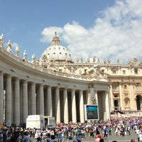 Photo taken at Saint Peter's Square by Sergey I. on 6/26/2013