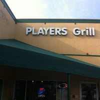Photo taken at Players Grill by Michael O. on 1/18/2013
