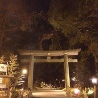 Foto tirada no(a) 明治神宮 北参道 por Hirom Y. em 12/31/2012
