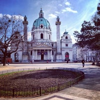 3/20/2013 tarihinde Yagnenokziyaretçi tarafından Karlskirche'de çekilen fotoğraf