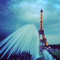 Photo prise au Jardins du Trocadéro par Yagnenok le6/19/2013