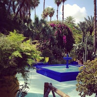 Photo taken at Jardin de Majorelle by Yagnenok on 5/17/2013