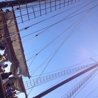 Photo taken at Tall Ship Kajama by Brian B. on 8/12/2015