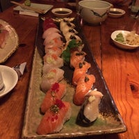 Photo taken at Musashino Sushi Dokoro by James G. on 6/21/2014