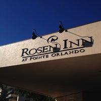 Photo taken at Rosen Inn at Pointe Orlando by Bruna A. on 1/23/2013