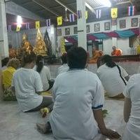 Photo taken at วัดเขื่อนท่าทุ่งนาประชาสรรค์(โป่งปัด) by Teerapong T. on 5/13/2014
