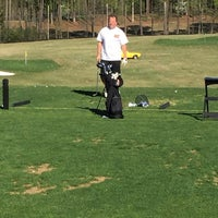 Photo taken at Fox Creek Golf Course and Driving Range by Stephenie B. on 4/1/2017
