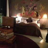 Das Foto wurde bei 25hours Hotel Wien beim MuseumsQuartier von Wendy R. am 2/11/2013 aufgenommen