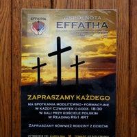 Photo taken at Polski Kosciol Church by Victoria V. on 1/9/2016